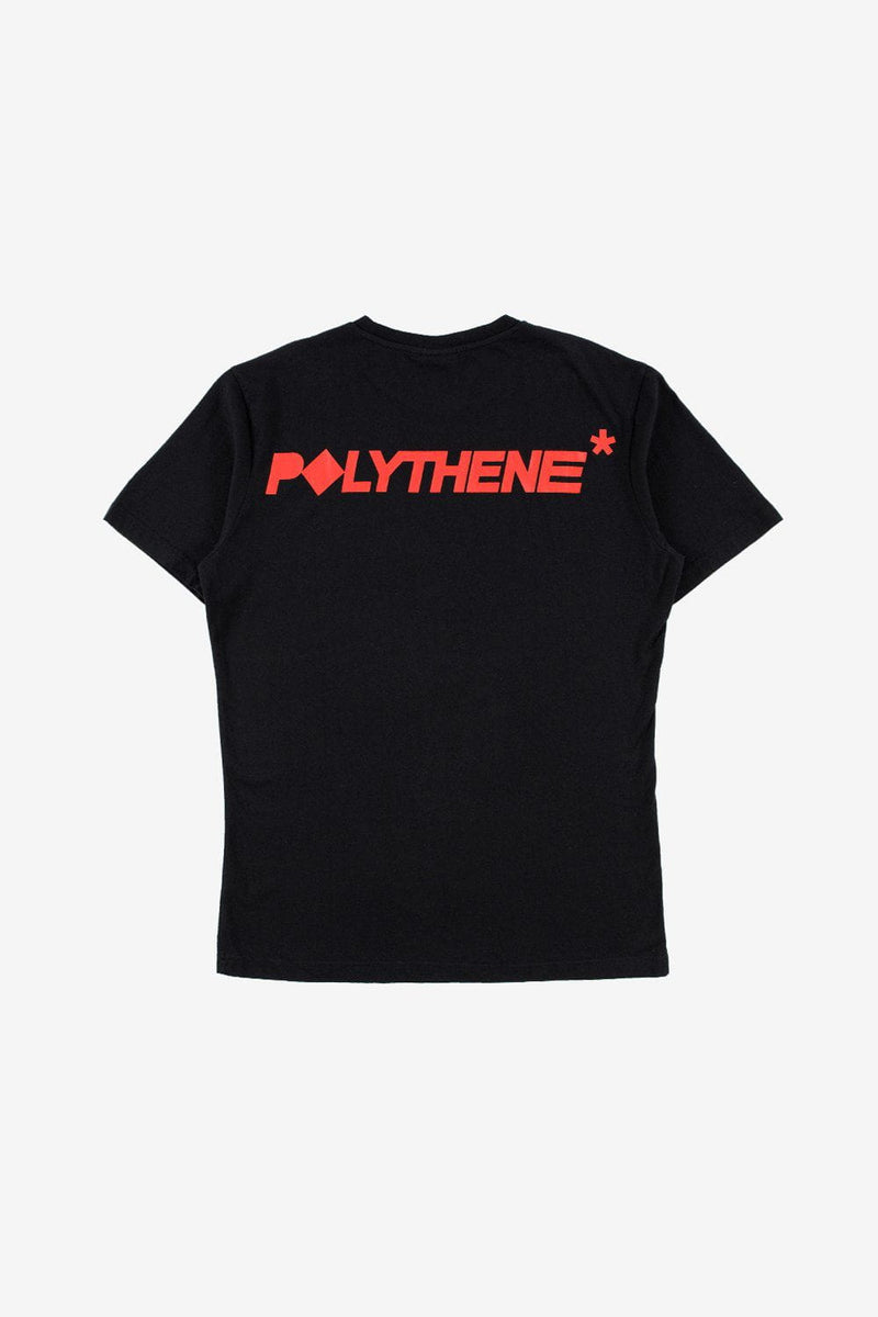 Polythene Optics Apparel Logo Short Sleeve T-Shirt Black