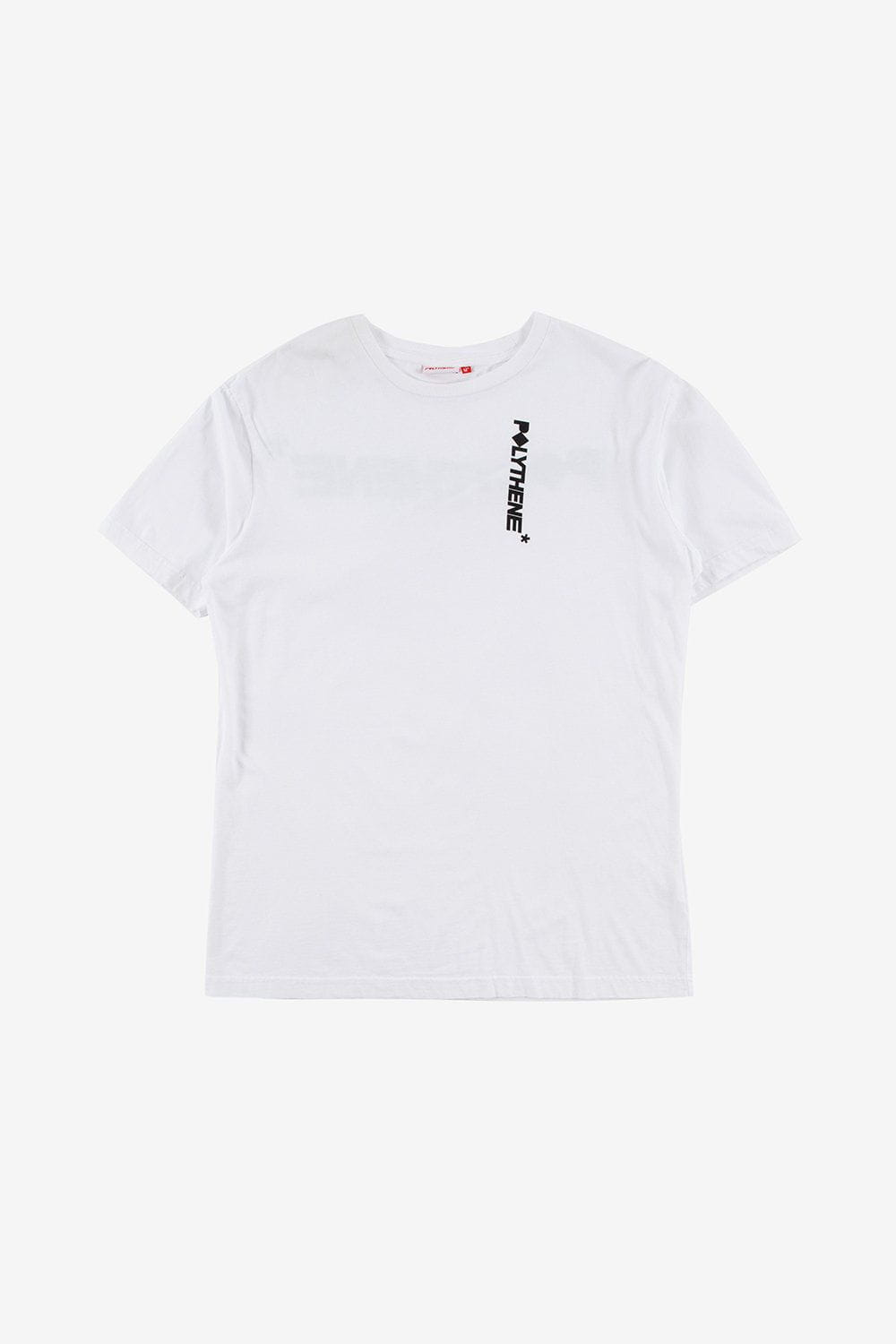 Polythene Optics Apparel Logo Short Sleeve T-Shirt White