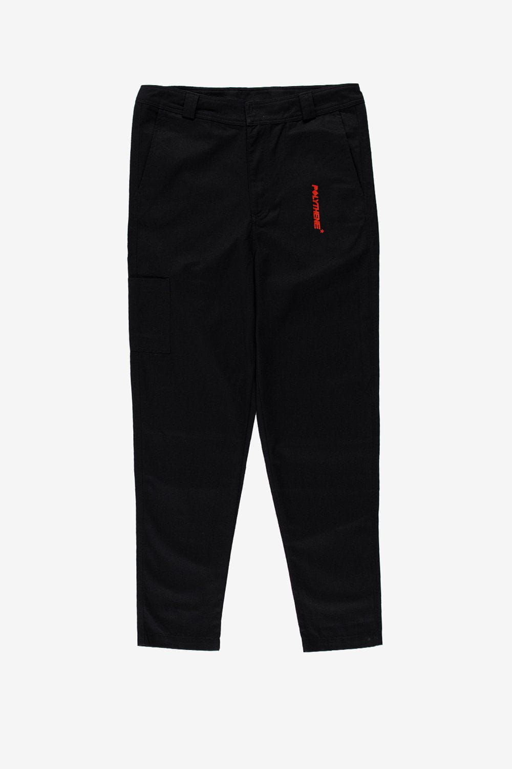 Polythene Optics Apparel Workwear Trousers Black
