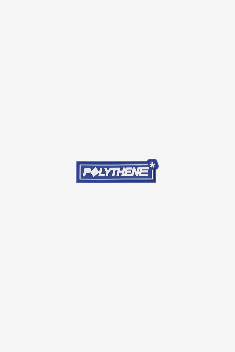 Polythene Optics OS Rubber Badge White/Blue