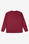 Stone Island Apparel Long Sleeve Patch Tee Cherry
