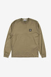 Stone Island Apparel Long Sleeve Patch Tee Olive