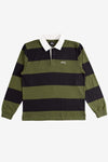 Stussy Apparel Classic Stripe Long Sleeve Rugby