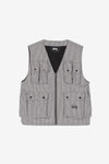 Stussy Apparel Houndstooth Work Vest
