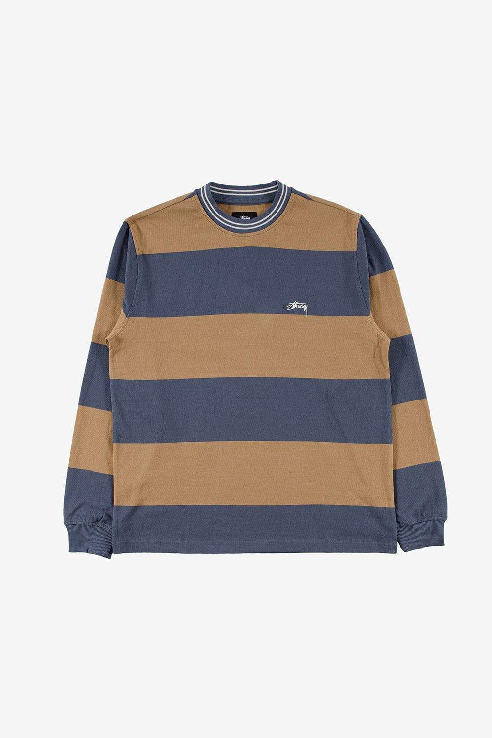Stussy Apparel Moore Stripe Long Sleeve Tee