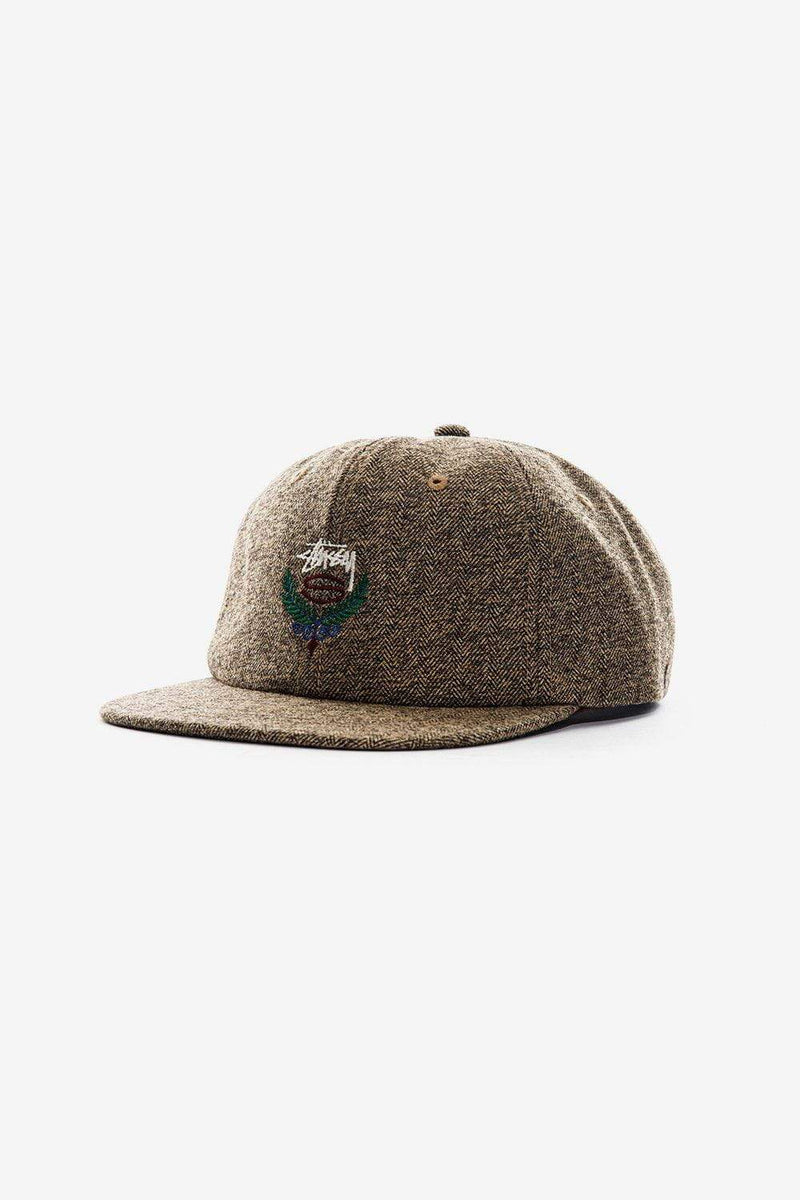 Stussy Apparel NS Big Herringbone Strapback Cap