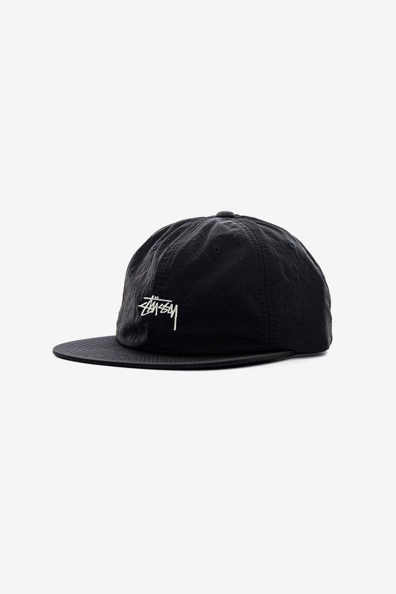 Stussy Apparel NS Stock Washed Nylon Strapback Cap