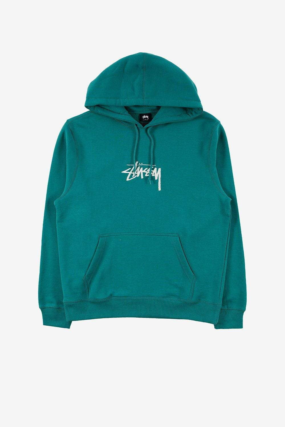 Stussy Apparel Stock Logo Applique Hoodie