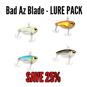 LURE PACK - Bad Az Blade 11g (4 lures)