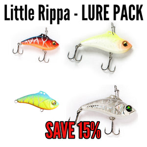 Little Rippa' - LURE PACK (10 lures in total)