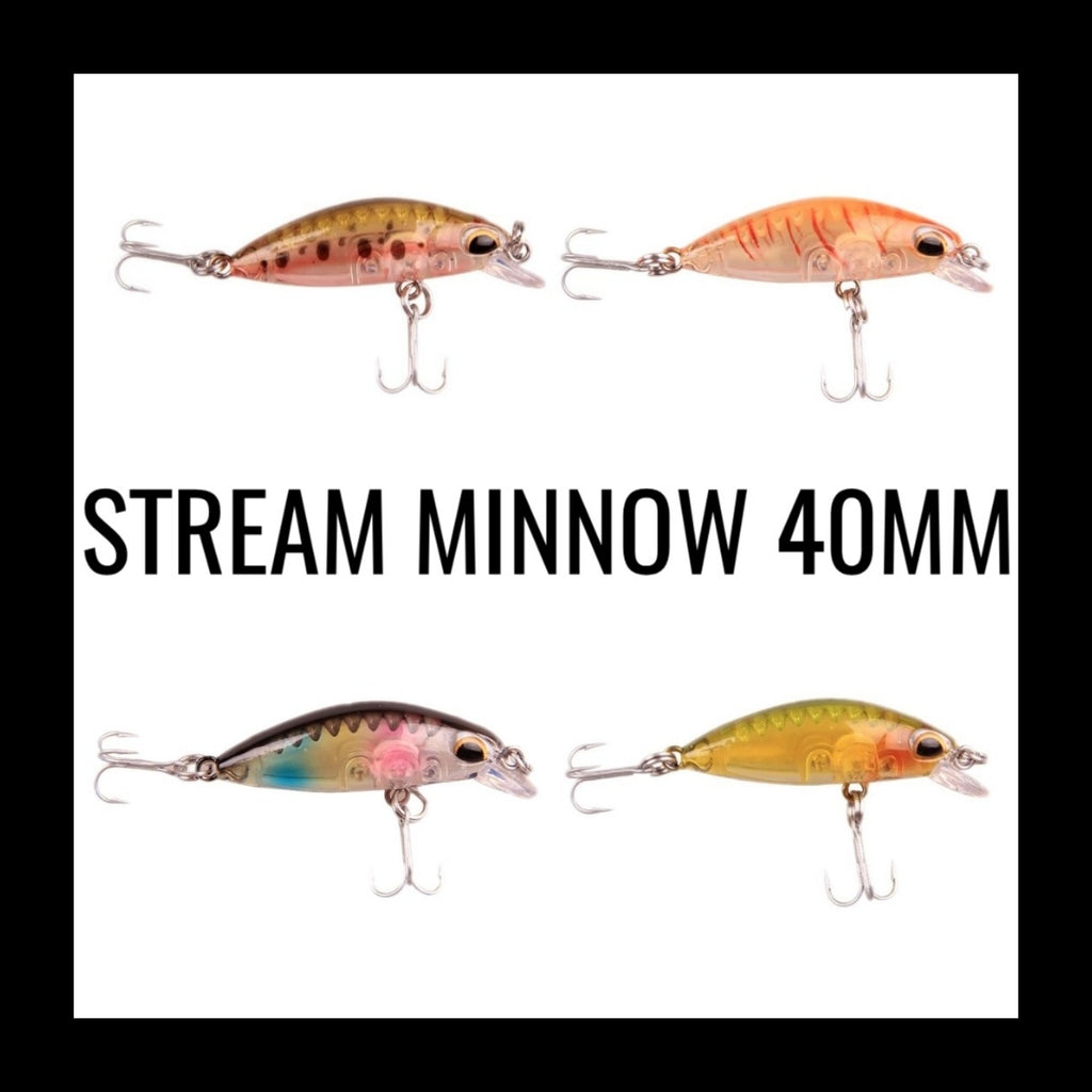 Stream Minnow (40mm)