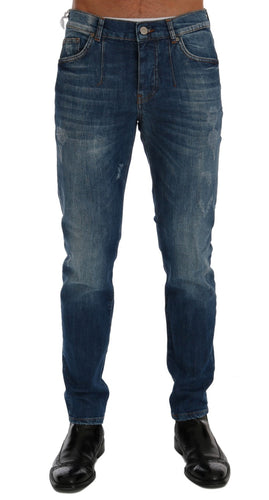 Blue Wash Perth Slim Fit Jeans