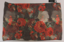 Load image into Gallery viewer, Red Roses Silk Floral Print
