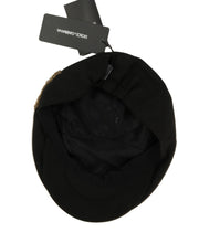 Load image into Gallery viewer, Black Crystal AMORE Bee Applique Hat