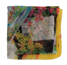 Load image into Gallery viewer, Multicolor Italian Riviera Silk Scarf