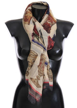 Load image into Gallery viewer, Multicolor Silk Cashmere Scarf
