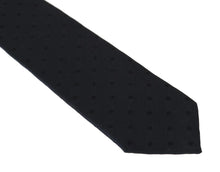 Load image into Gallery viewer, Dark Gray Silk Polka Dot Print Tie