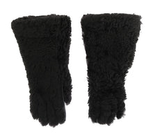Load image into Gallery viewer, Gray Leather Shearling Fur Gloves