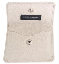 Load image into Gallery viewer, White Dauphine Leather Case Wallet