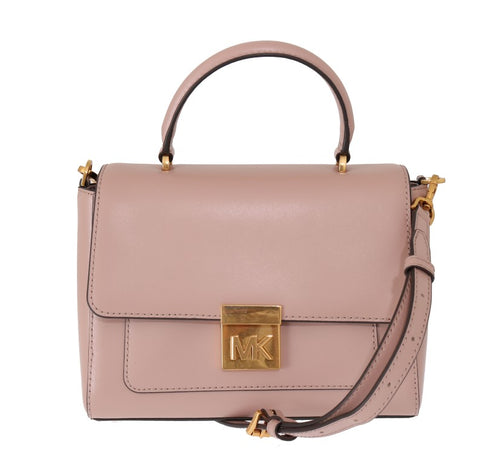 Pink MINDY Satchel Crossbody Bag