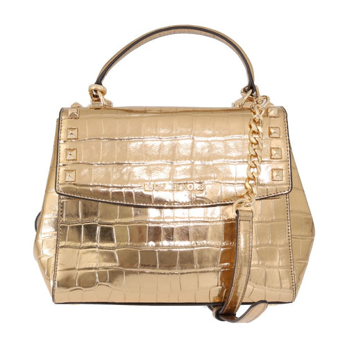 Gold KARLA Satchel Crossbody Bag