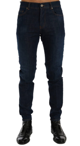 Blue Wash Aberdeen Slim Fit Jeans
