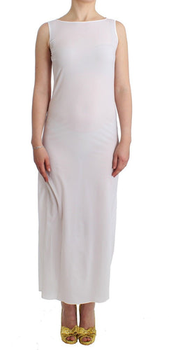 Beachwear White Long Maxi Dress Kaftan Full