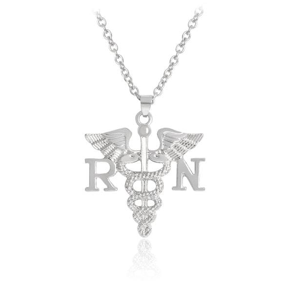 | The Real World Nurses | RN Scepter Necklace