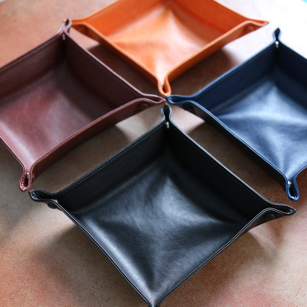 ETHEL Contemporary Leather Storage Box