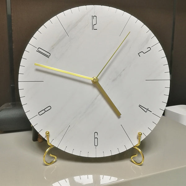 BLACKWELL Marble Face Wall Clock
