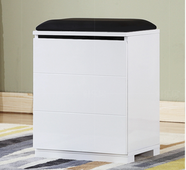 CALLEN Contemporary Stackable Shoe Cabinet Bench