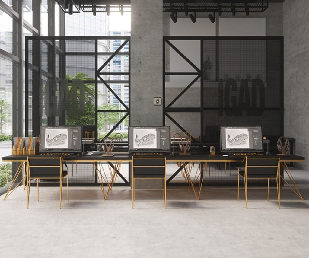 Modern and Sleek Office Work Bench / Office Table / Dining ...
