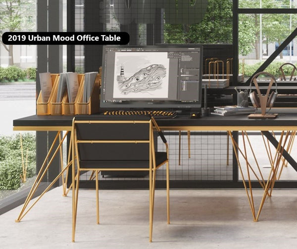 Modern and Sleek Office Work Bench / Office Table / Dining Table / Cafe Table