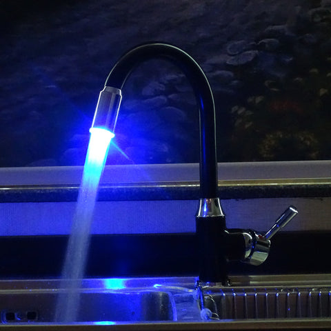 Smart LED Black Tap Faucet