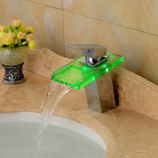 GABE Smart LED Flat Tap Faucet