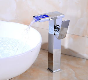 Smart LED Flat Tap Faucet