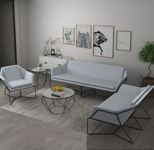 Modern Wire Frame Sofa Set