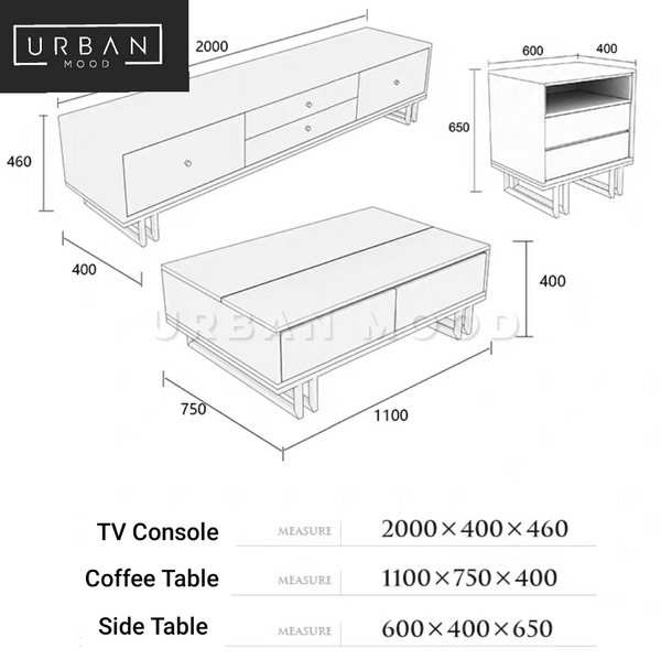 DWELL Contemporary TV Console