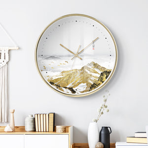 CHERIE Gold Series Pop Art Wall Clock