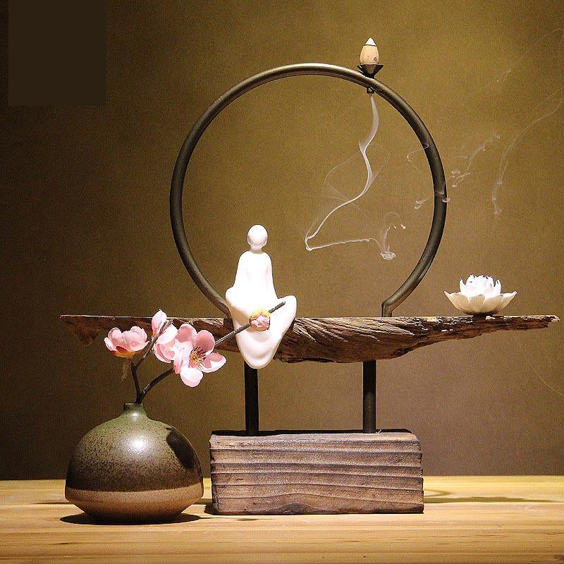 VICTORY Contemplative Buddha Aroma Diffuser Decoration