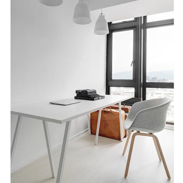 CARLENE Minimalist Ultra Slim Wooden Dining Office Table