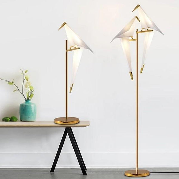 ALBATROSS Perched Lovebirds LED Standing Lamp