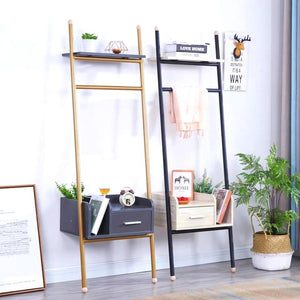 ALEX Industrial Ladder Shelf Cabinet