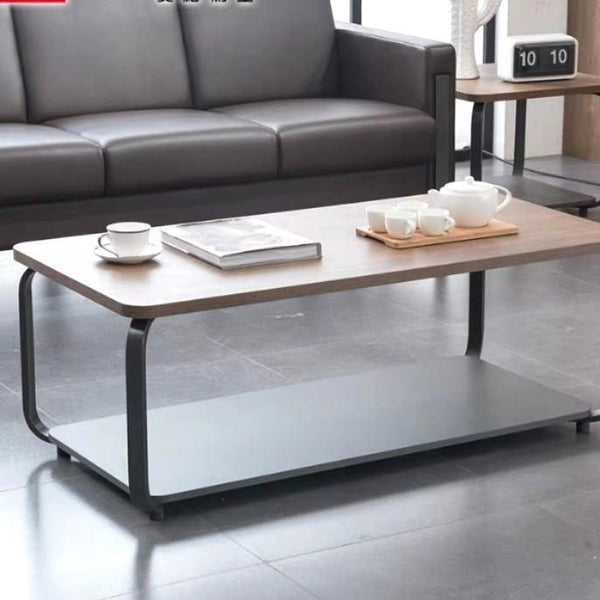 ALFRED Modern Industrial Coffee Table