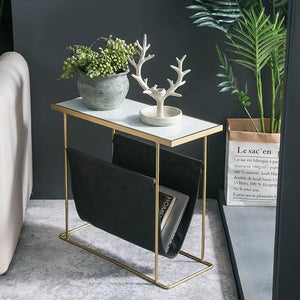 ALIZ Minimalist Magazine Side Table