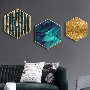 AUBYN Luxury 3D Wall Mural