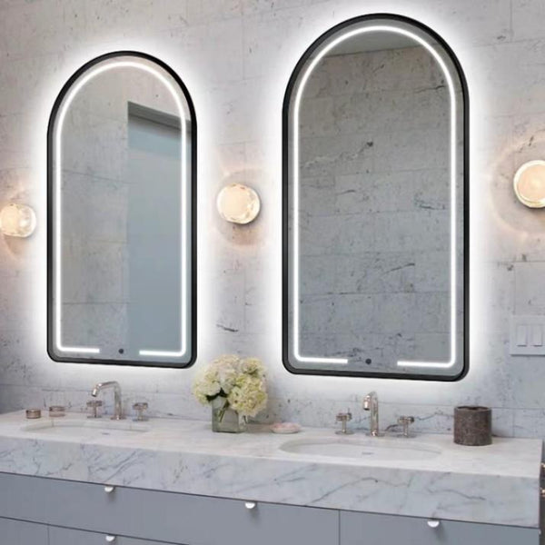 AURIS LED Arch Wall Mirror