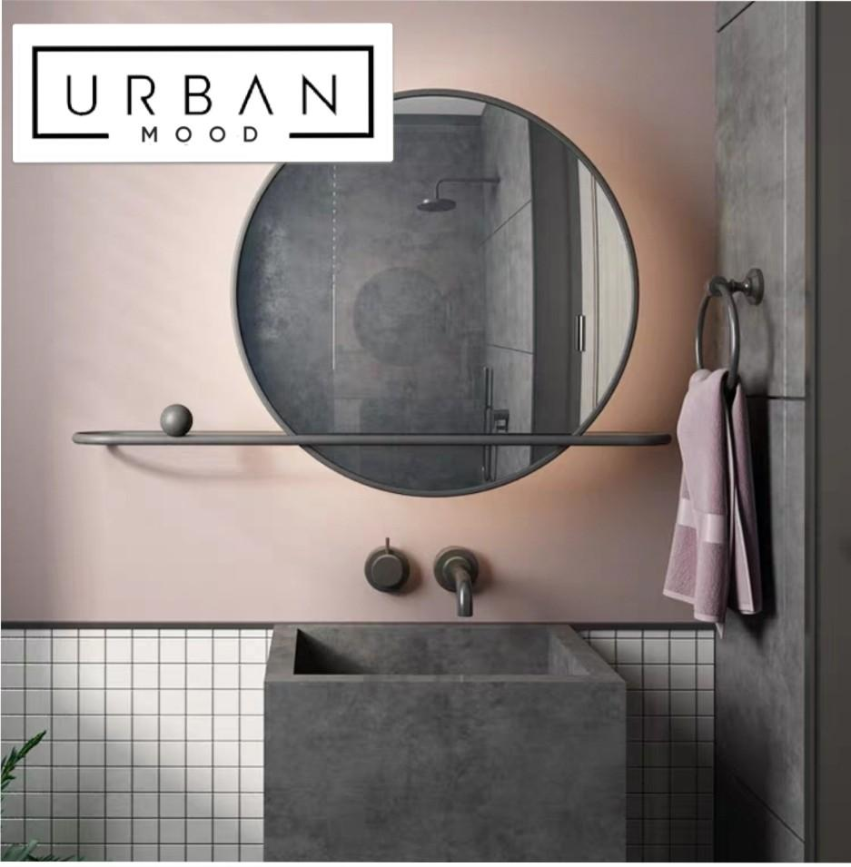 AVRIL Round LED Bathroom Mirror