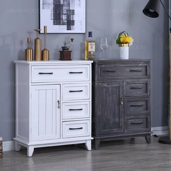 ALCOTT Distressed Vintage Chest of Drawers