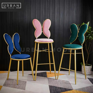 ANGELTAIL Modern Butterfly Wings Dining / Bar Chair